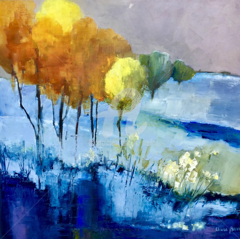 Eliane Boivin - Feux d'automne