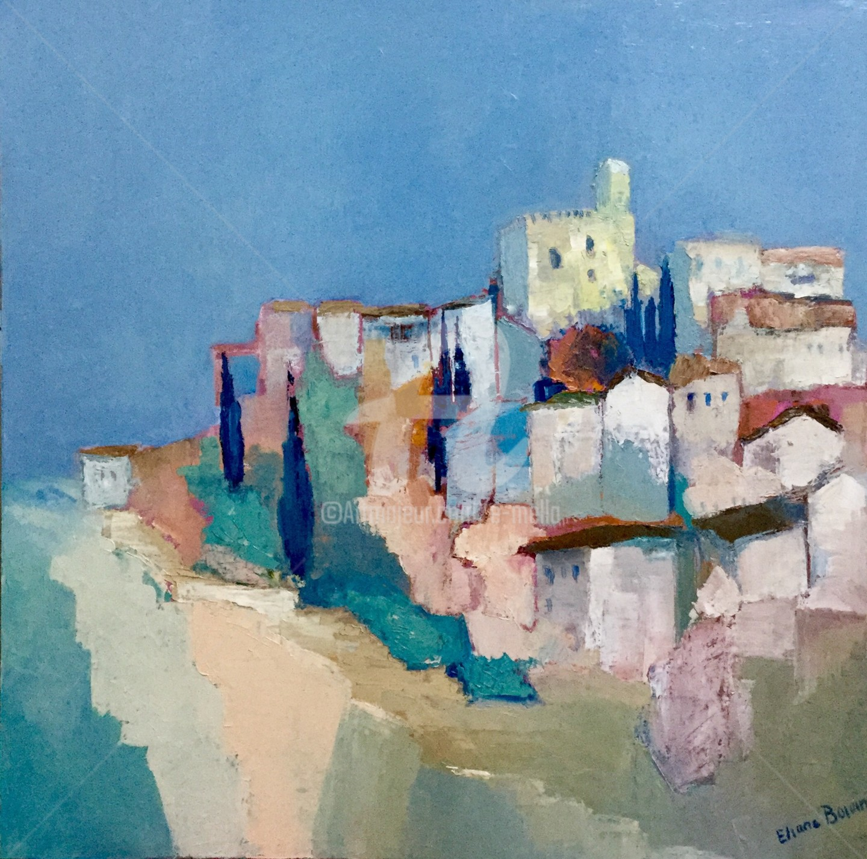 Eliane Boivin - village (1)
