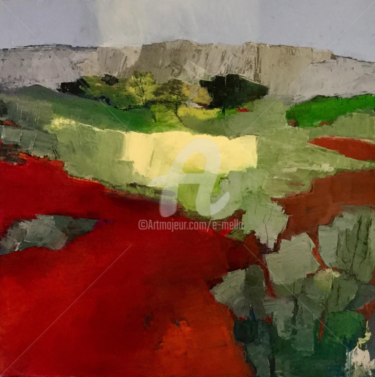 Eliane Boivin - Chemins rouges (3)