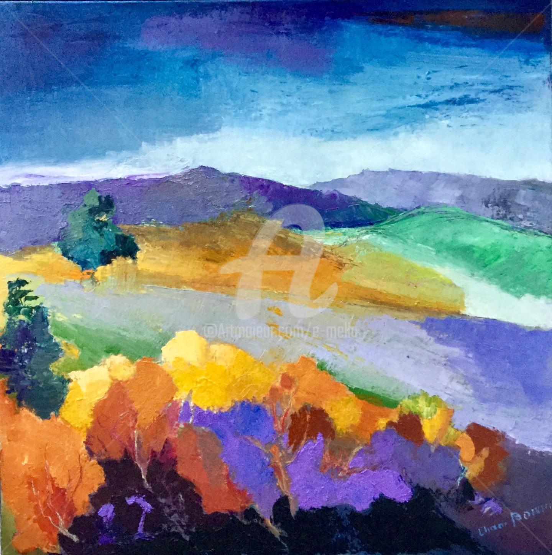 Eliane Boivin - Paysage d'automne 1
