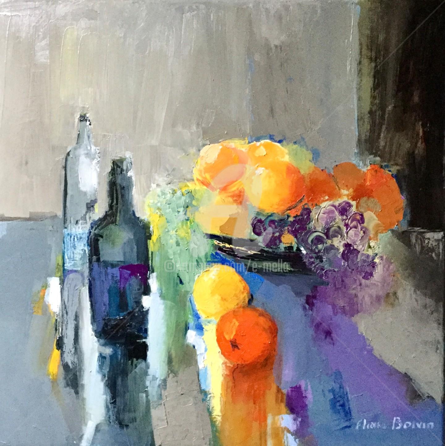 Eliane Boivin - Oranges sans titre