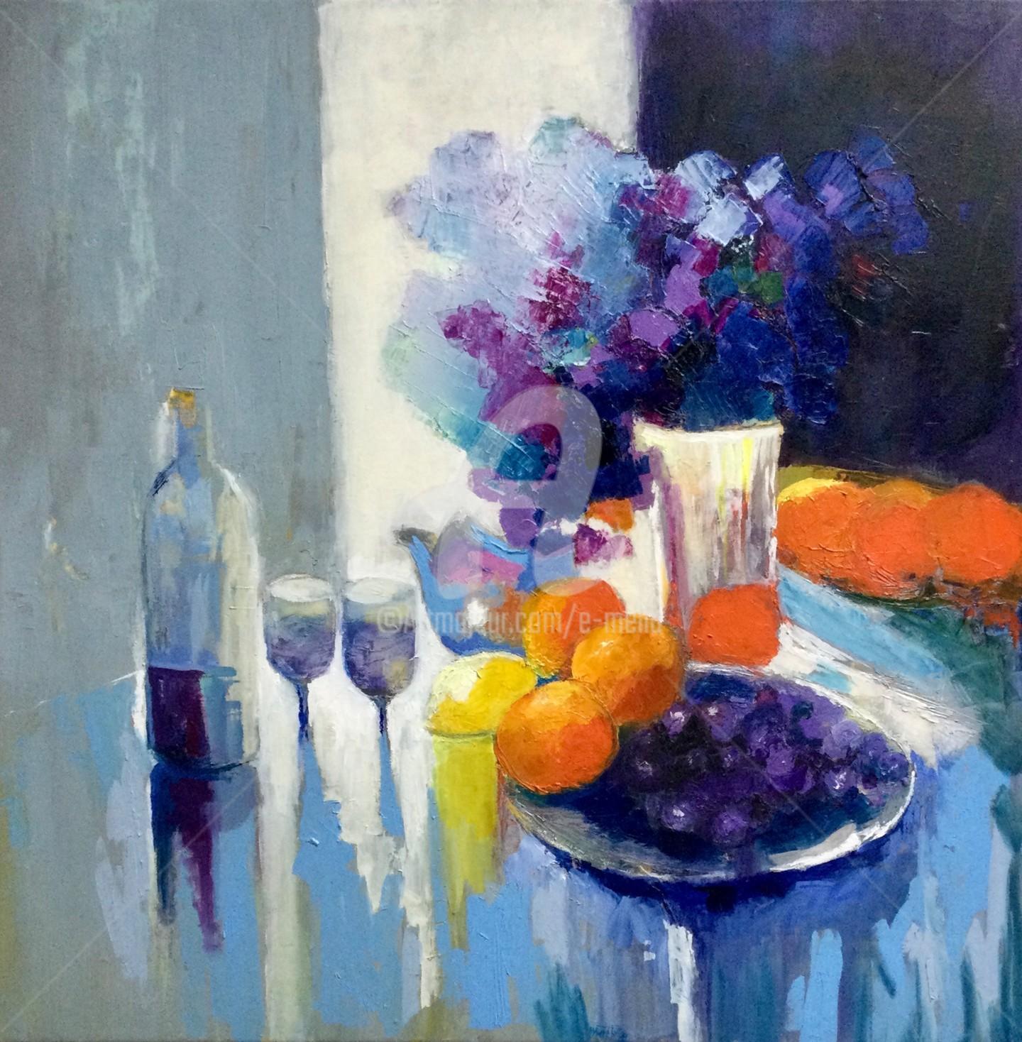 Eliane Boivin - Oranges sans titre (2)