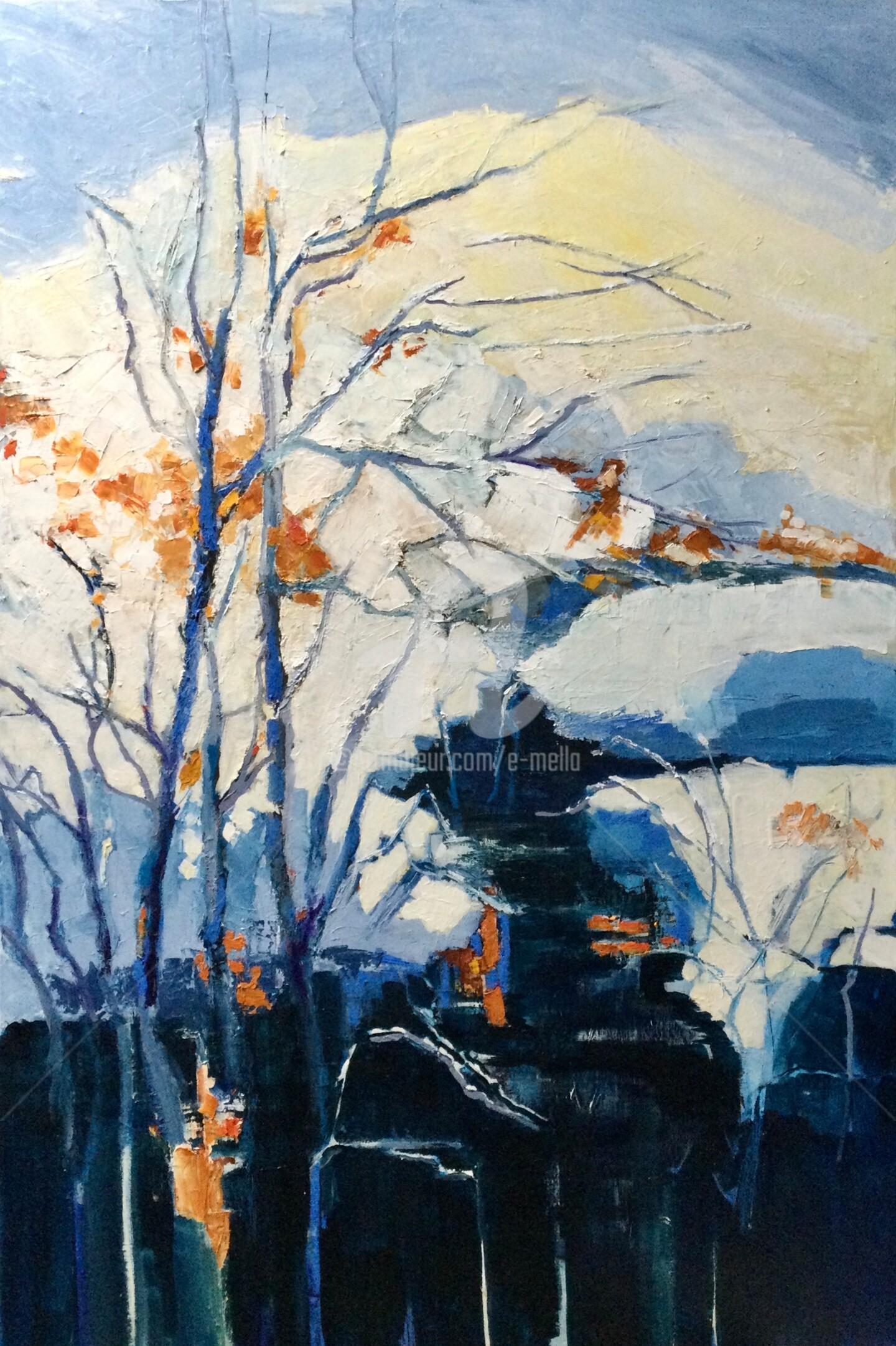 Eliane Boivin - Le ru dans la montagne