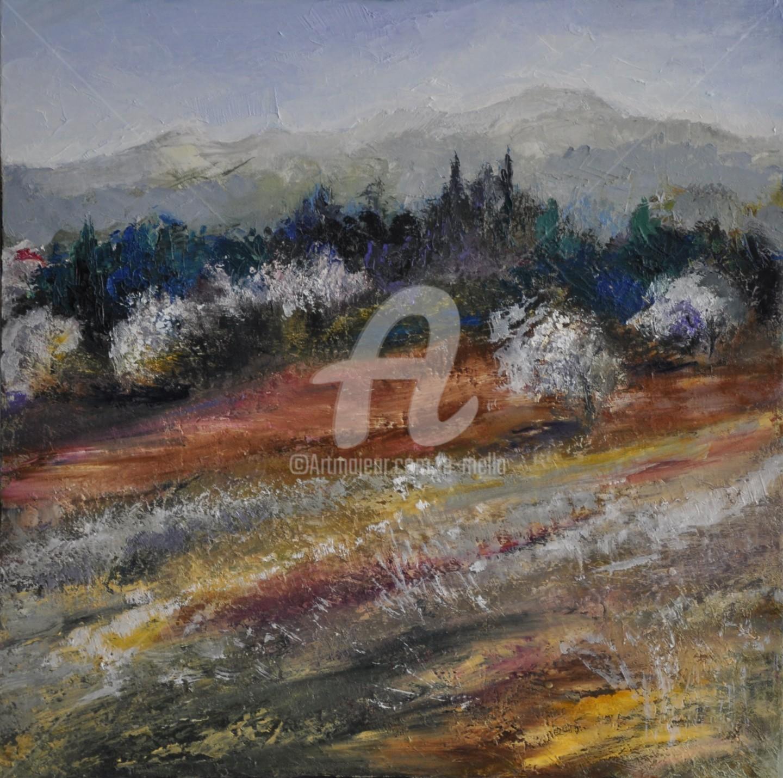 """Eliane Boivin - """"Mont Ventoux"""" 50X50"""