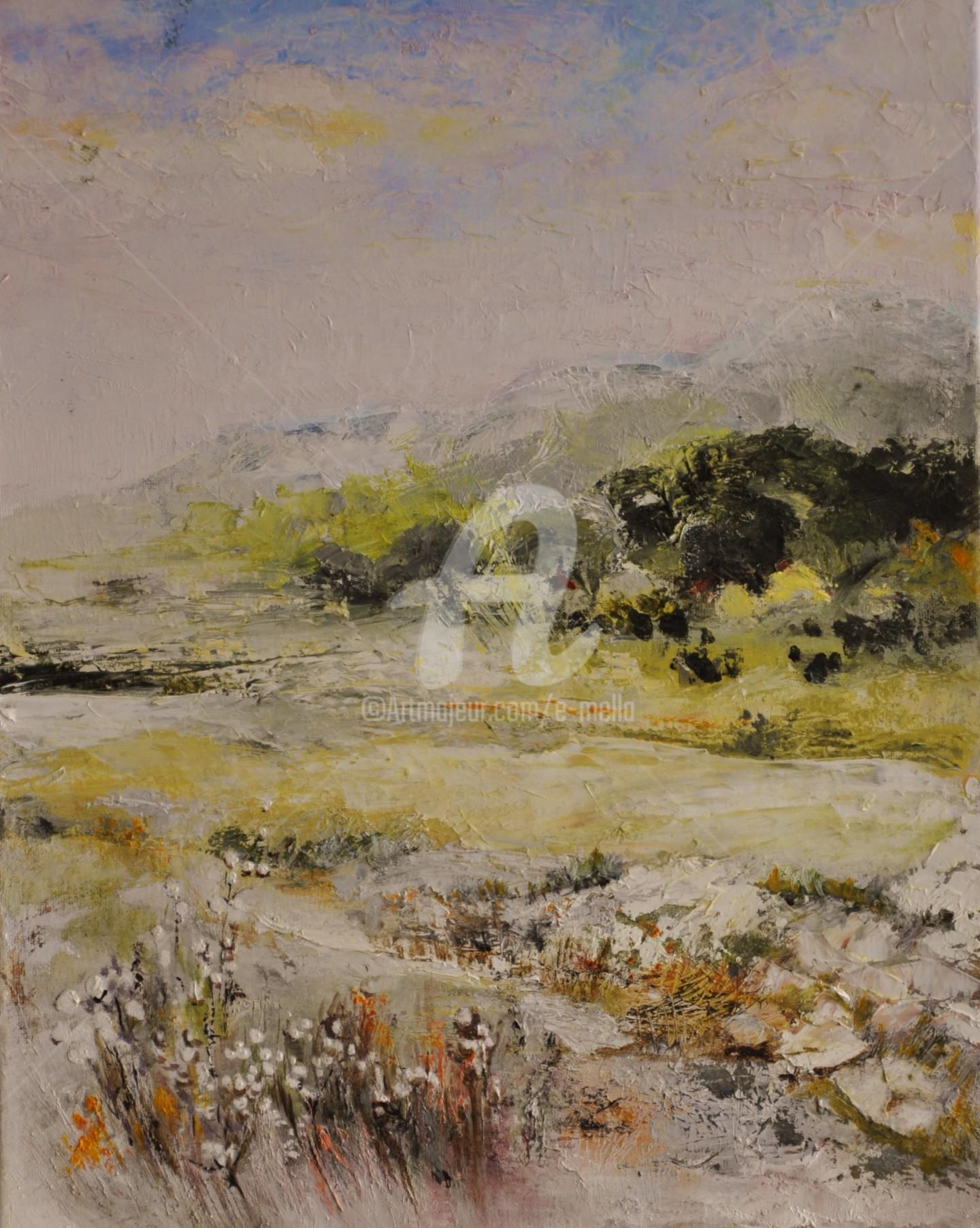 "Eliane Boivin - ""Provence (5) 40X50"