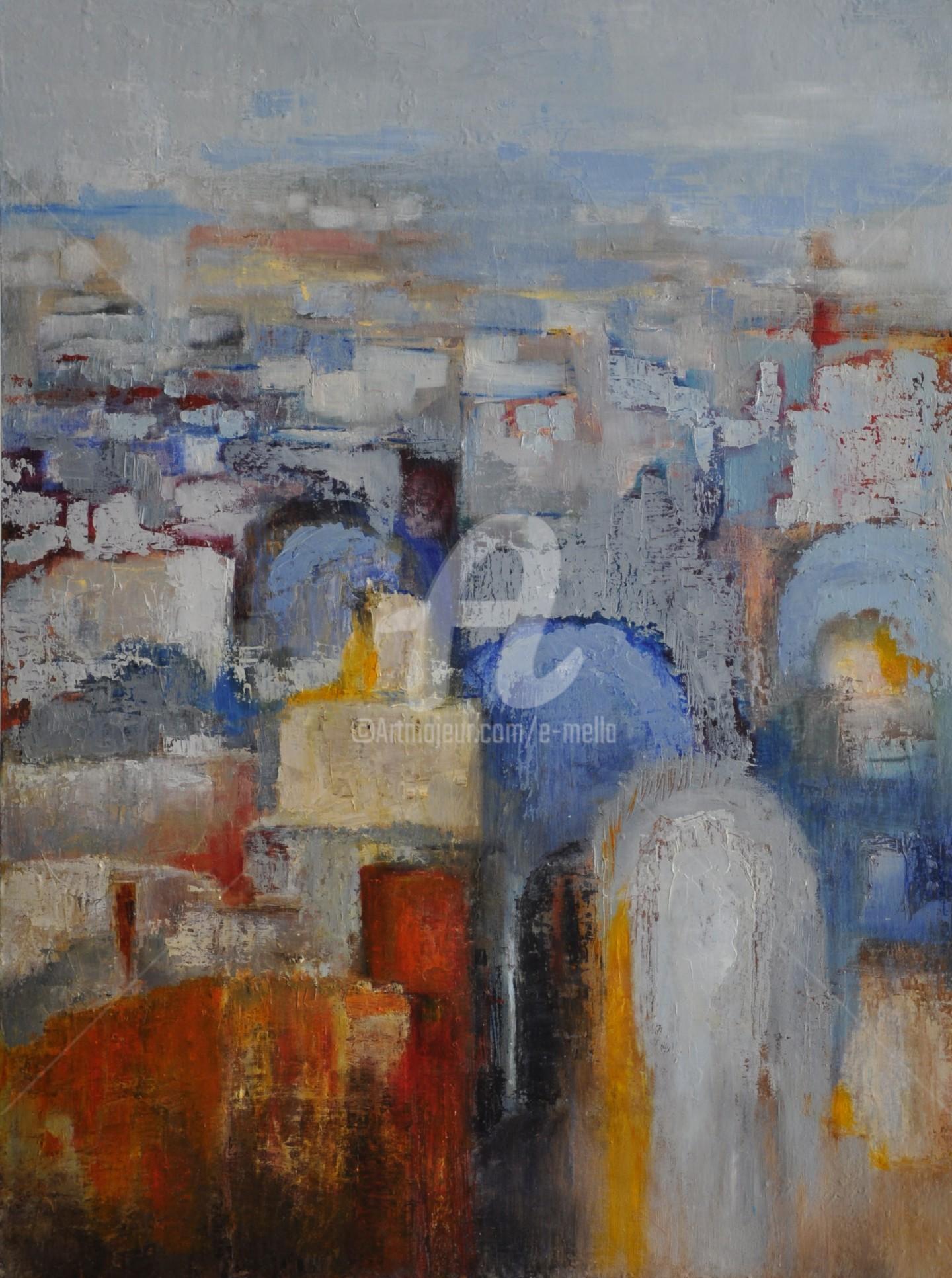 "Eliane Boivin - ""Marrakech"" 60x80"