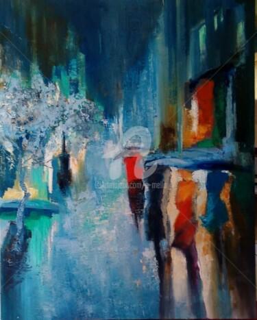 """""""Peinture de la nuit""""100X80"""