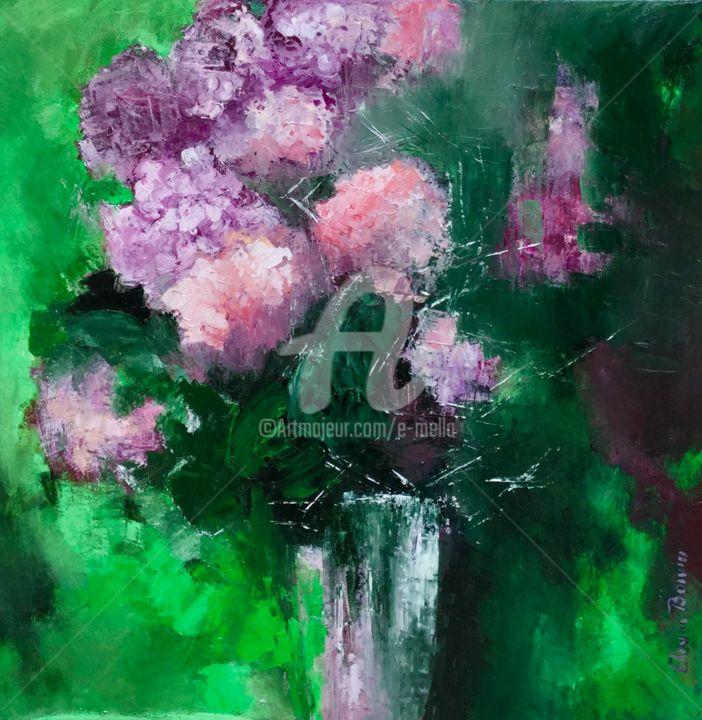 """""""Bouquet aux couleurs du jardin"""" 50x50"""