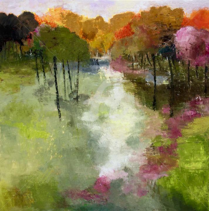 «Promenade d'automne» 80x80