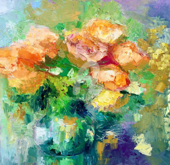 """""""Roses d'automne"""" 50X50"""