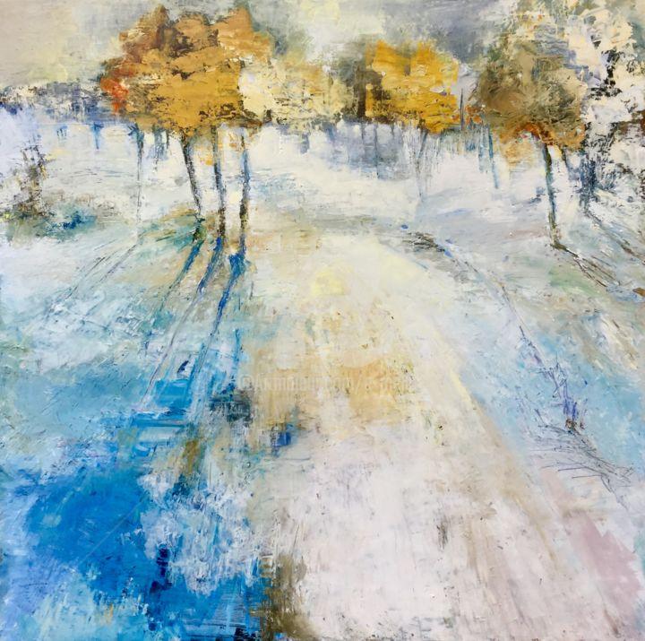 Promenade d'hiver 80x80