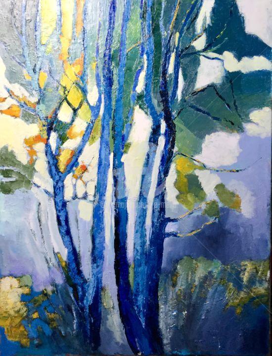 Eliane Boivin - Les Bouleaux bleus