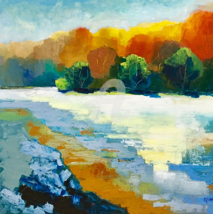 Eliane Boivin - Riviere d'automne